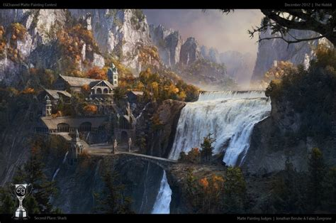 Matte Painting   December   CG Channel