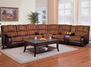 L shaped sectional sofa with recliner cleanupfloridacom for Sectional sofa with two recliners