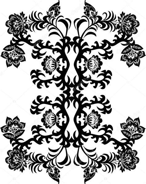 Black Flowers Design | Joy Studio Design Gallery - Best Design