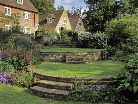 country landscape design romance in the garden french country style hgtv