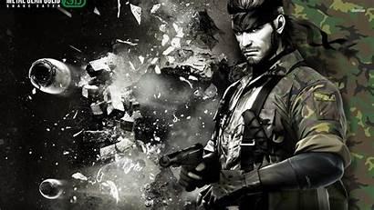 Gear Solid Metal Snake Eater Boss End