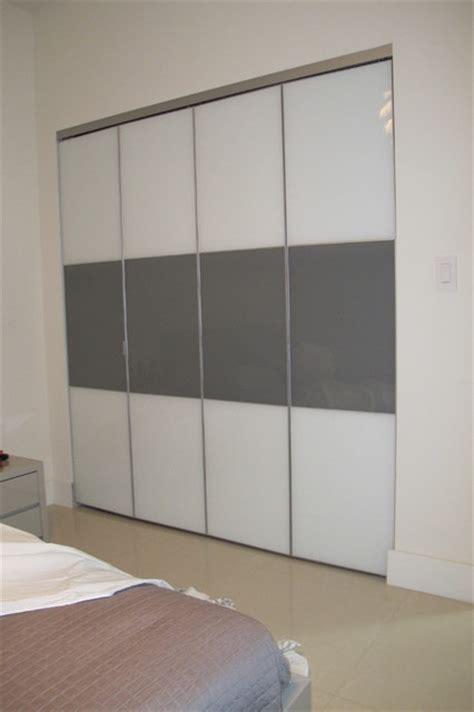 bifold closet doors modern closet