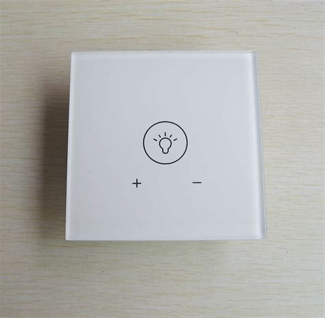 light dimmer switch with led backlight touchscreen home