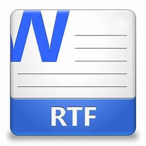 Rtf file icon lozengue filetype icons softiconscom for Document rtf download