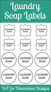 Diy laundry soap and free printable labels uncommon designs for Free printable laundry labels