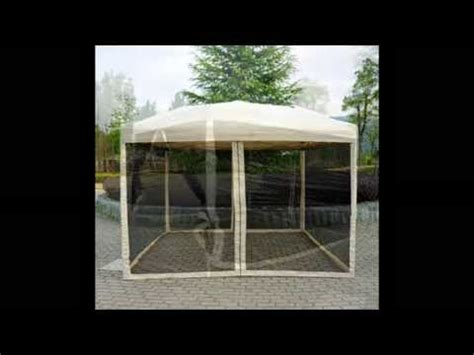 easy pop  canopy tent  mesh side walls large canopy