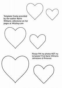 how to make stuffed felt hearts tutorial With felt shape templates