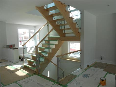 glass railings balconies  stairs ottawa centennial glass