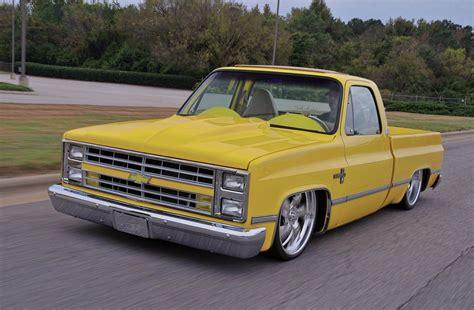 1981 Chevrolet C10  Chrome Yellow