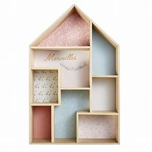 Etagere Industrielle Maison Du Monde : tag re maison rose et bleue maisons du monde ~ Melissatoandfro.com Idées de Décoration