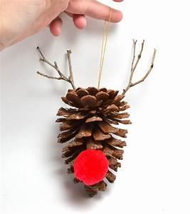 Simple DIY Pine Cone Ornaments Dream A Little Bigger