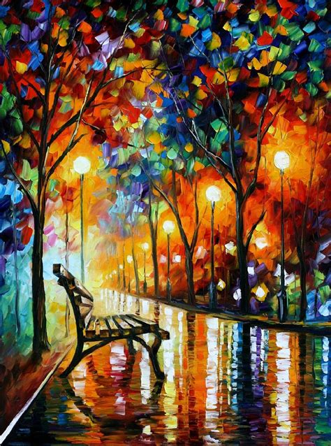 Inside The Sketchbook Leonid Afremov