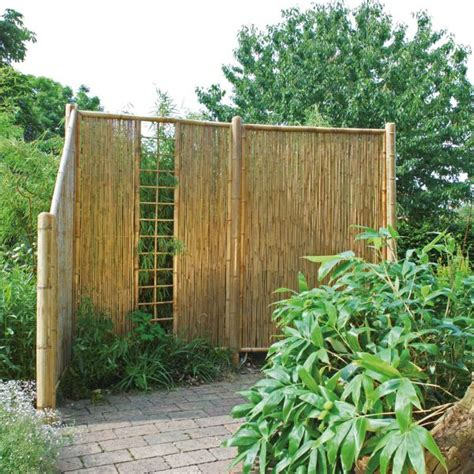 Garten Sichtschutz Bambus Natur by Sichtschutzwand Bambus Sichtschutzelement Zen Spalier