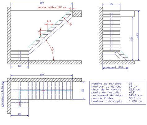 plan escalier bois myqto