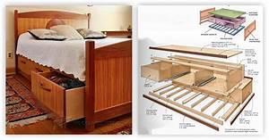 Under Bed Storage Plans • WoodArchivist
