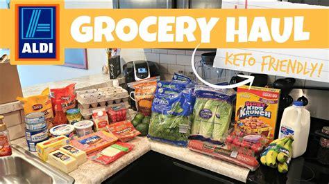 Aldi Grocery Haul // Keto Friendly
