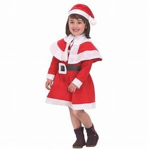 deguisement de noel pour fille en feutrine taille 3 4 ans With robe fille 3 ans noel