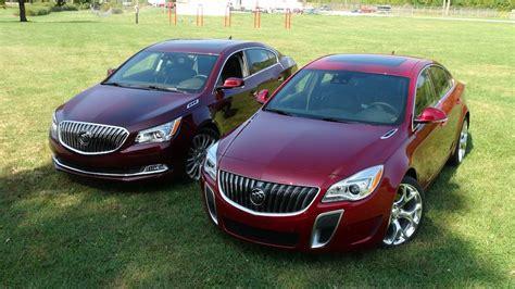 Buick Lacrosse Vs Regal 2014 buick regal gs vs lacrosse 0 60 mph mashup review
