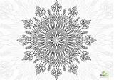 Coloring Heaven Adult Gate Printable Mandala Trippy Zen sketch template