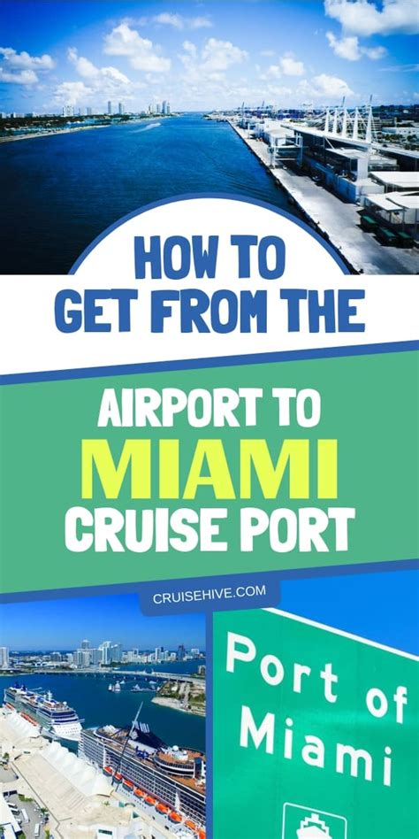 Car Rental At Miami Cruise by How To Get From The Airport To Miami Cruise