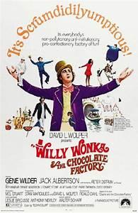 WILLY WONKA REPRINT MOVIE POSTER 1971 FANTASY