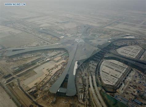 Neuer Flughafen Peking by China Focus Beijing New Airport To Test Run In October