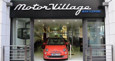 motor village  represent fiat  alfa  london motor show