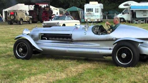 spitfire engined car youtube