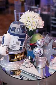 Star Wars Birthday Party Centerpiece