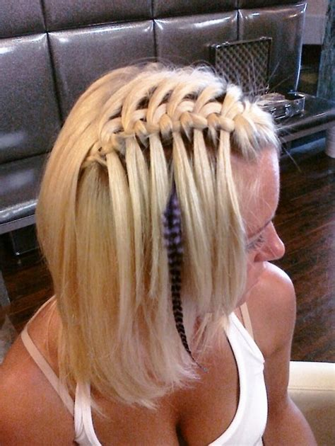 sexy braid hairstyles sexy waterfall braid hairstyles 2013 hairstyles weekly