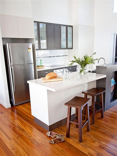 modern white  stainless steel kitchen hgtv