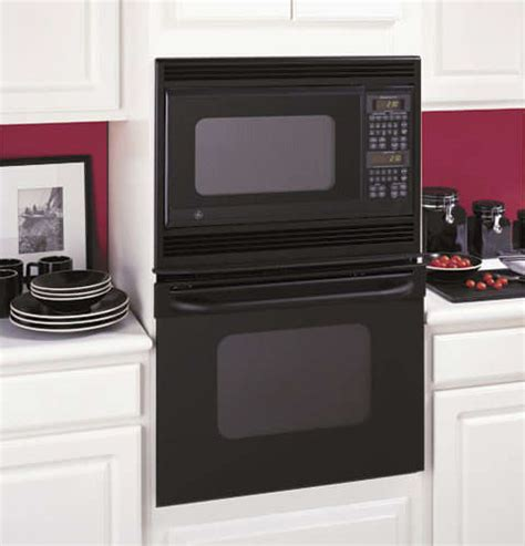 ge jkpbfbb   built  combination microwave double wall oven  super large  clean