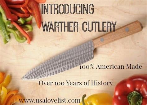 For made in usa promotions, new products and sales. Introducing 100% American Made Knives by Warther Cutlery ...