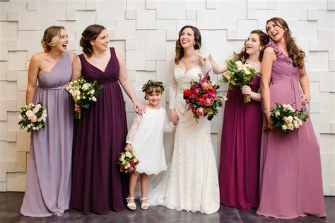 Bridesmaid Dresses For Winter Weddings Inside Weddings