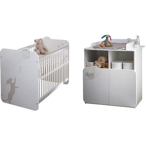 pack chambre de culture pas cher pack promo ensemble lit bébé commode à langer katy pas