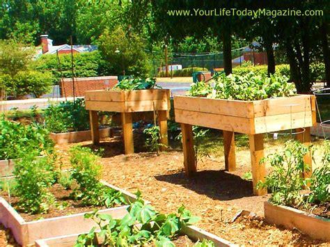 Building A Raised Container Garden  The Garden Inspirations