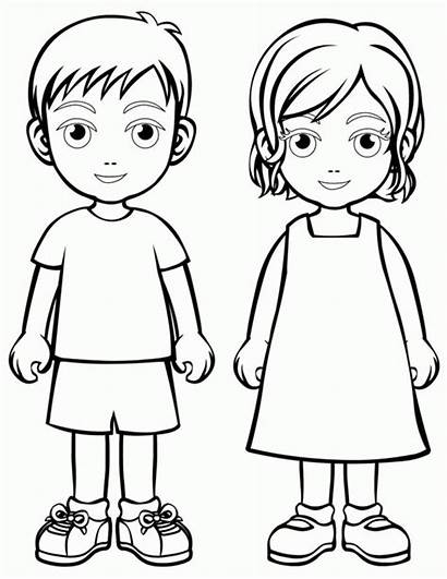 Coloring Pages Human Humans Popular