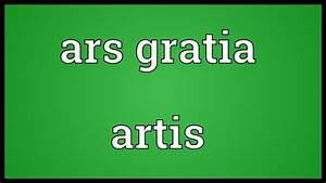 Ars Gratia Artis : ars gratia artis meaning youtube ~ A.2002-acura-tl-radio.info Haus und Dekorationen