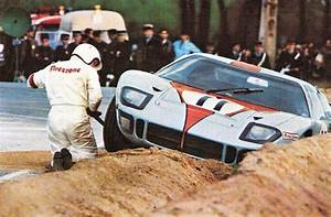 1968    Le Mans   Entered By J W  Auto Eng    Ford Gt40