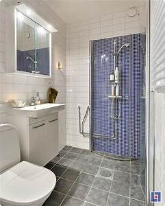100 small bathroom designs ideas hative for Simple small bathroom designs