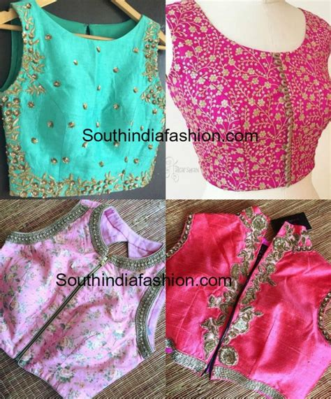 the shoulder top ethnic crop top designs south india fashion