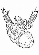Skylanders Happy Trigger Coloriage Coloring Ausmalbilder Disegni Desenhos Coloriez Swap Force Clip Bang Dibujos Printable Colorear Library Malvorlagen Pangea Colorir sketch template