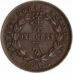 Coins / North Borneo / One Cent 1888 - Online Coin Club