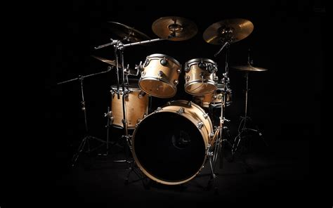drum kit  theme desktop wallpaper