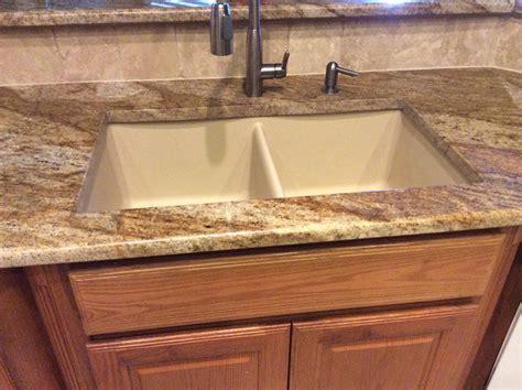 best undermount kitchen sinks for granite countertops granite creations of san antonio starting at 29 99 per sf