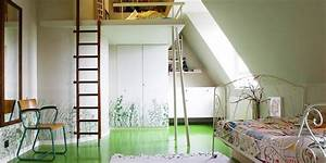 Lit Mezzanine Enfant : lit mezzanine pour chambre d enfant ~ Teatrodelosmanantiales.com Idées de Décoration