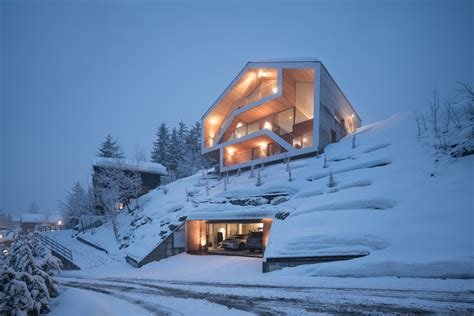 chalet anzere search archdaily