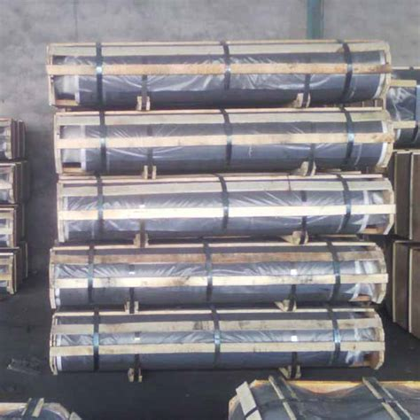 china short lead time  carbon electrode price uhp graphite electrode hongqiqu