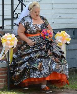 a real redneck wedding mama june wears bizarre camouflage With redneck wedding dress