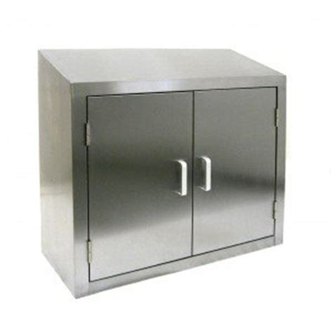 Stainless Steel Wall Cabinets Kitchen by All Stainless Steel Wall Cabinet W Hinged